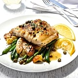Fish Piccata With Crispy Smashed Potatoes