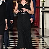 Kate in Alexander McQueen, March 2017