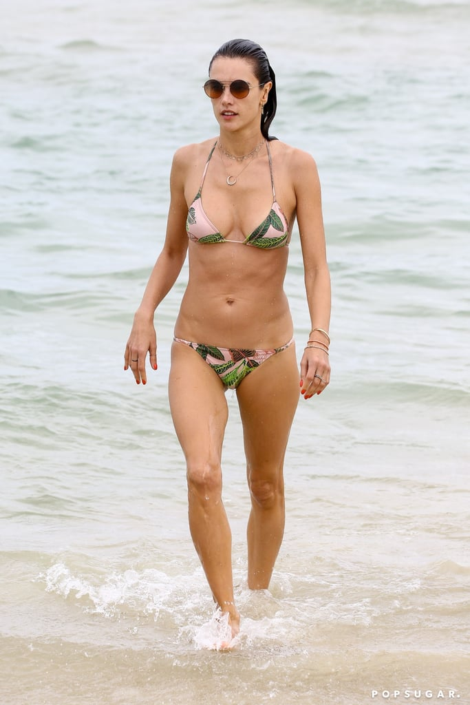 Alessandra Ambrosio's Bikini Tells a Whole Different Story Once You See Her Cover-Up