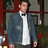 John Mayer enjoyed an evening out with Katy Perry in NYC.