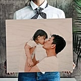 Personalized Photo on Wood