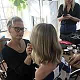 Pati Doing Margot's Makeup