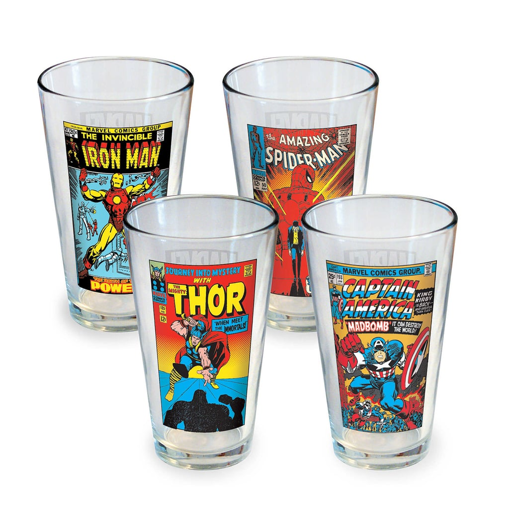 Marvel Characters Pint Glasses