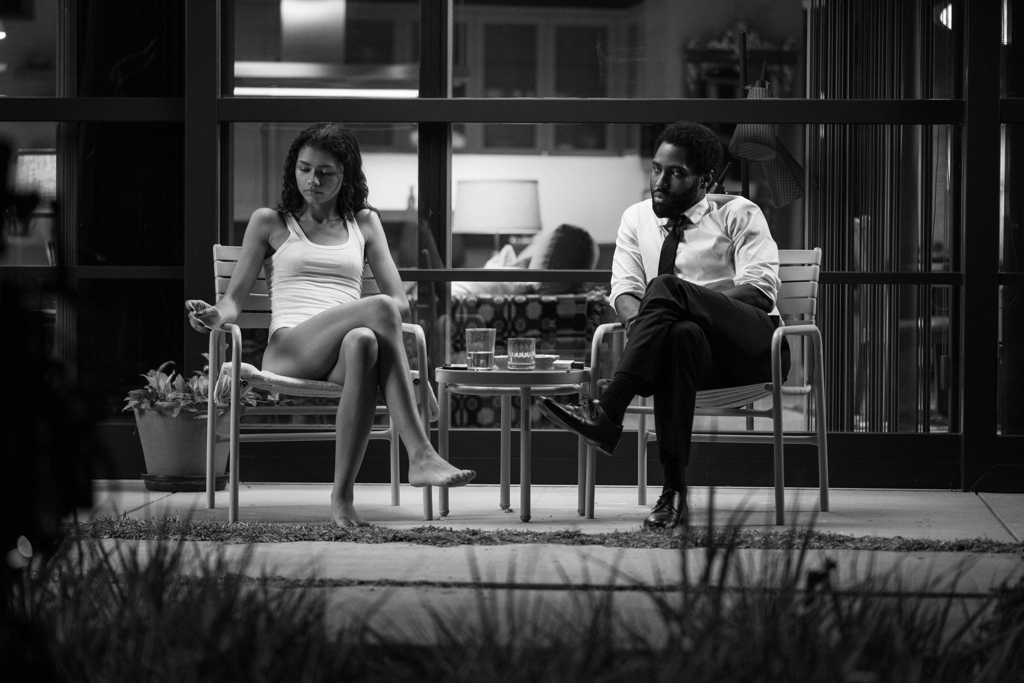 MALCOLM & MARIE (L-R): ZENDAYA as MARIE, JOHN DAVID WASHINGTON as MALCOLM. DOMINIC MILLER/NETFLIX © 2021