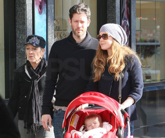 Slide Picture of Amy Adams and Aviana Shopping