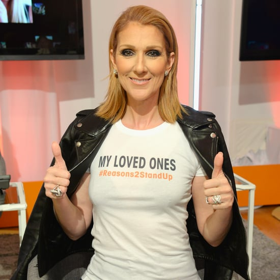 Celine Dion at Stand Up to Cancer Event 2016