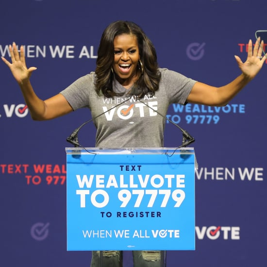 Michelle Obama VotingSquad Campaign