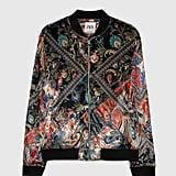 Zara Patchwork Print Jacket