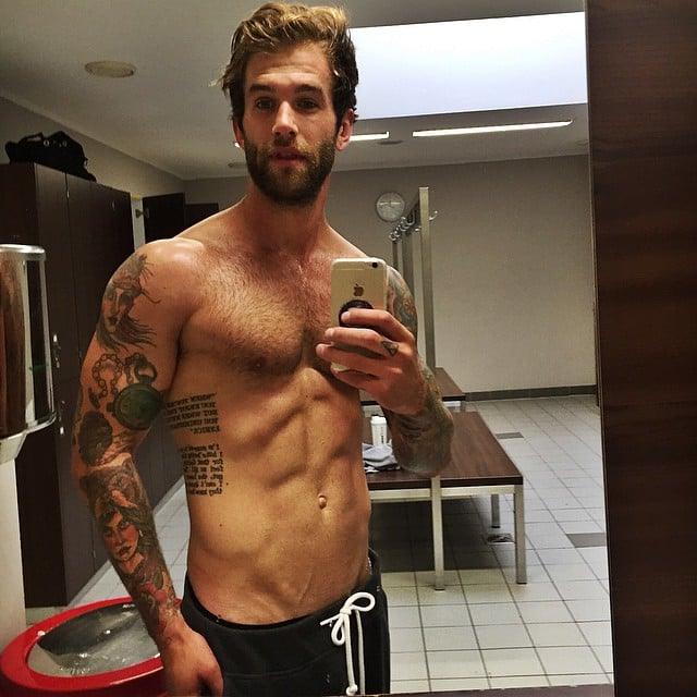 André Hamann andre hamann shirtless pictures popsugar photo 11