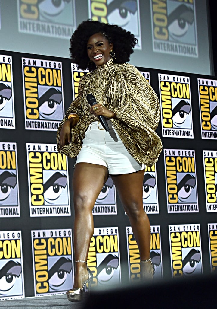 Pictured: Teyonah Parris at San Diego Comic-Con.