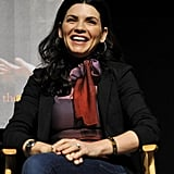 Julianna Margulies Joins Her Good Wife Costars to Talk About Her Hot Husband