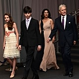 Michael Douglas and Catherine Zeta-Jones Make the Red Carpet a Family Affair