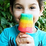 Rainbow Pudding Pops