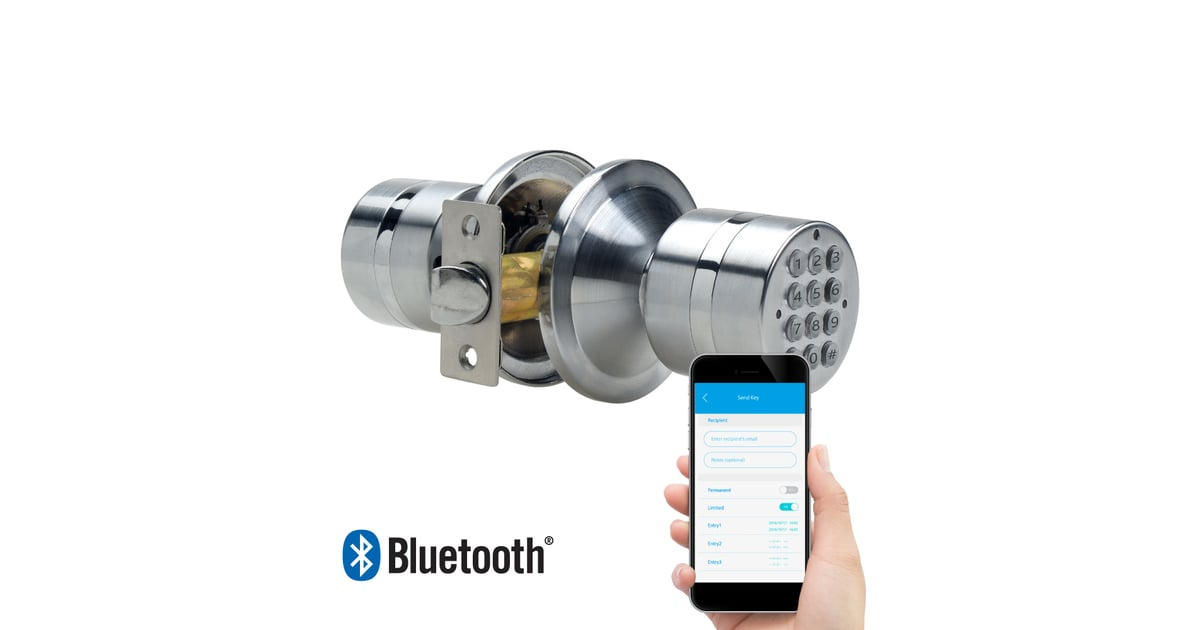 Turbolock Weatherproof Electronic Smart Bluetooth Keyless
