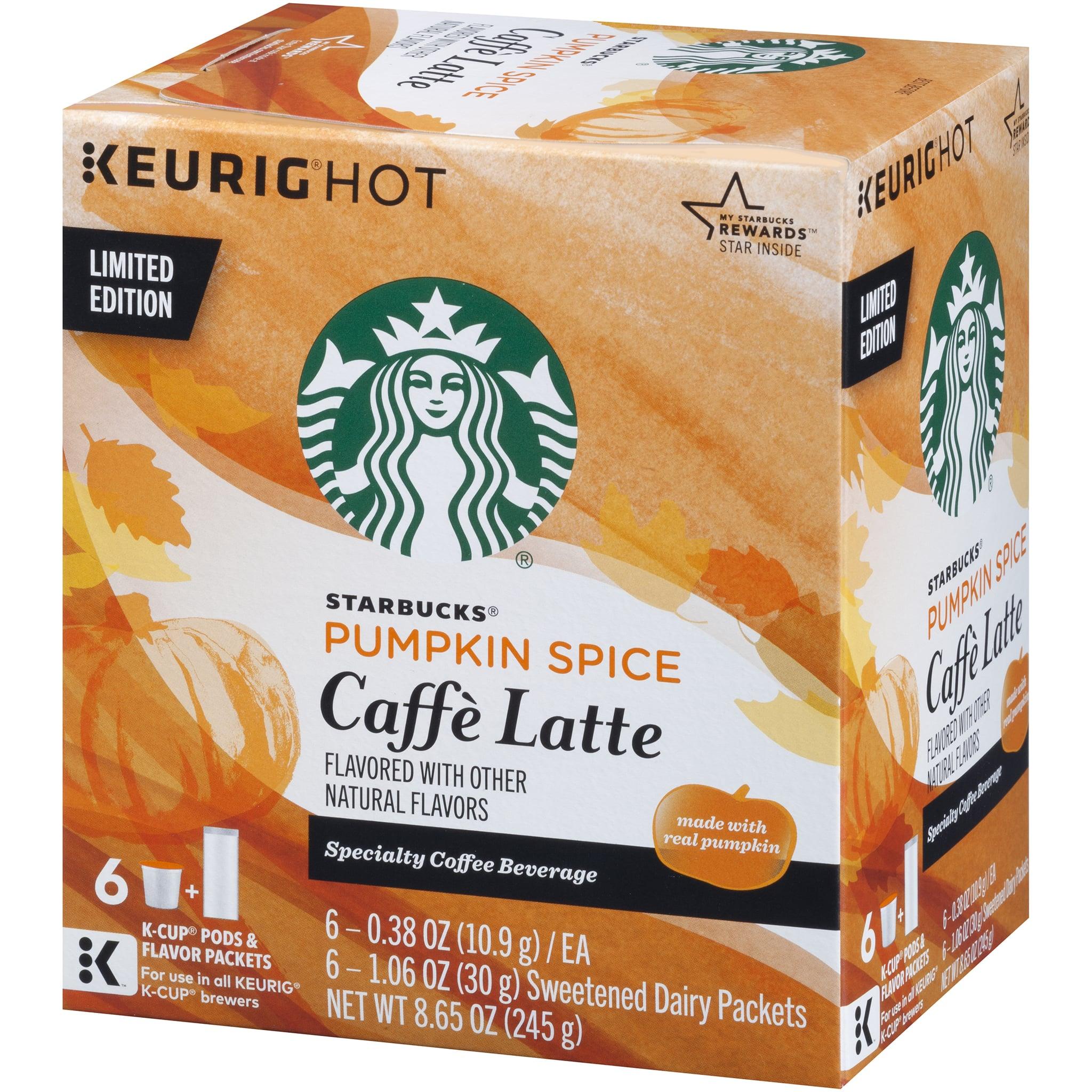 Returning Pumpkin Spice Caffe Latte K Cup Pods Guys