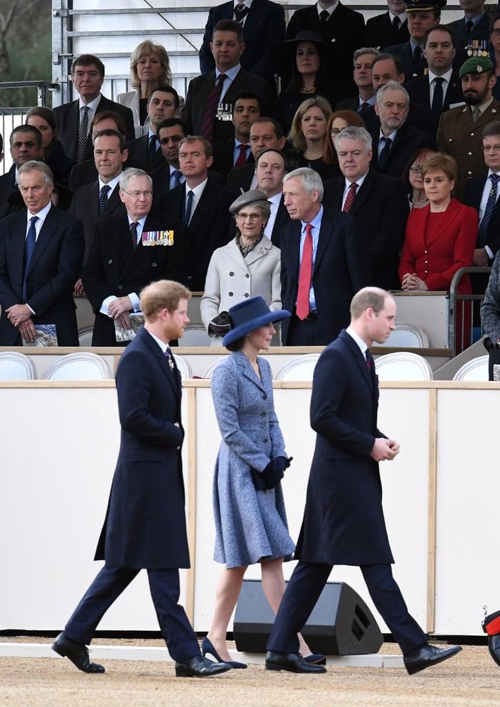 British Royal Family at Iraq Memorial Dedication March 2017