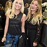 Gwen Stefani and Hilary Duff