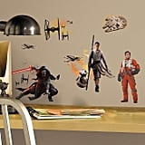 Star Wars Episode VII The Force Awakens Ensemble Cast Wall Decals