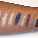 Kardashian Beauty Touch Tones Gradient Eye Color Set in Smokin' Hot Swatched on Medium to Dark Skin