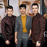The Jonas Brothers at Chasing Happiness Premiere