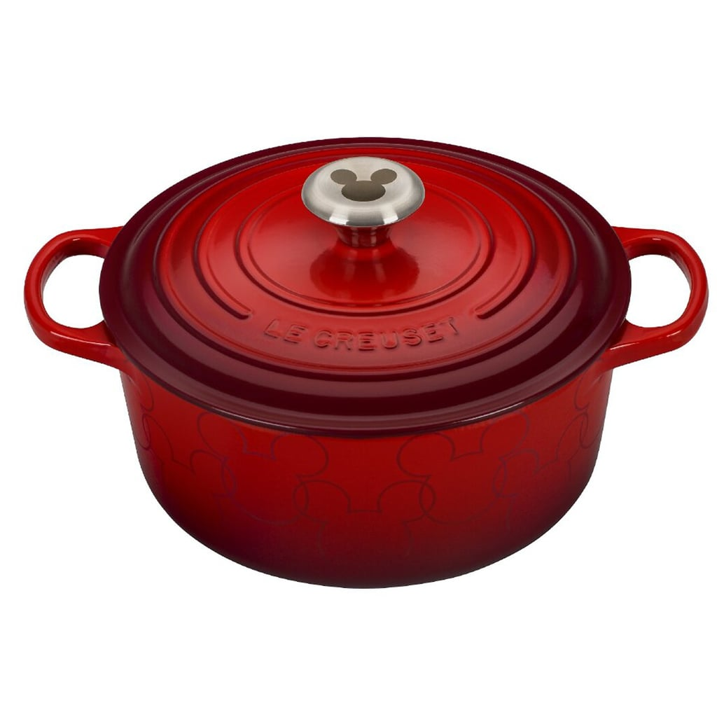 Le Creuset Teamed Up With Disney For the Mickey-Shaped Cookware of Your Dreams