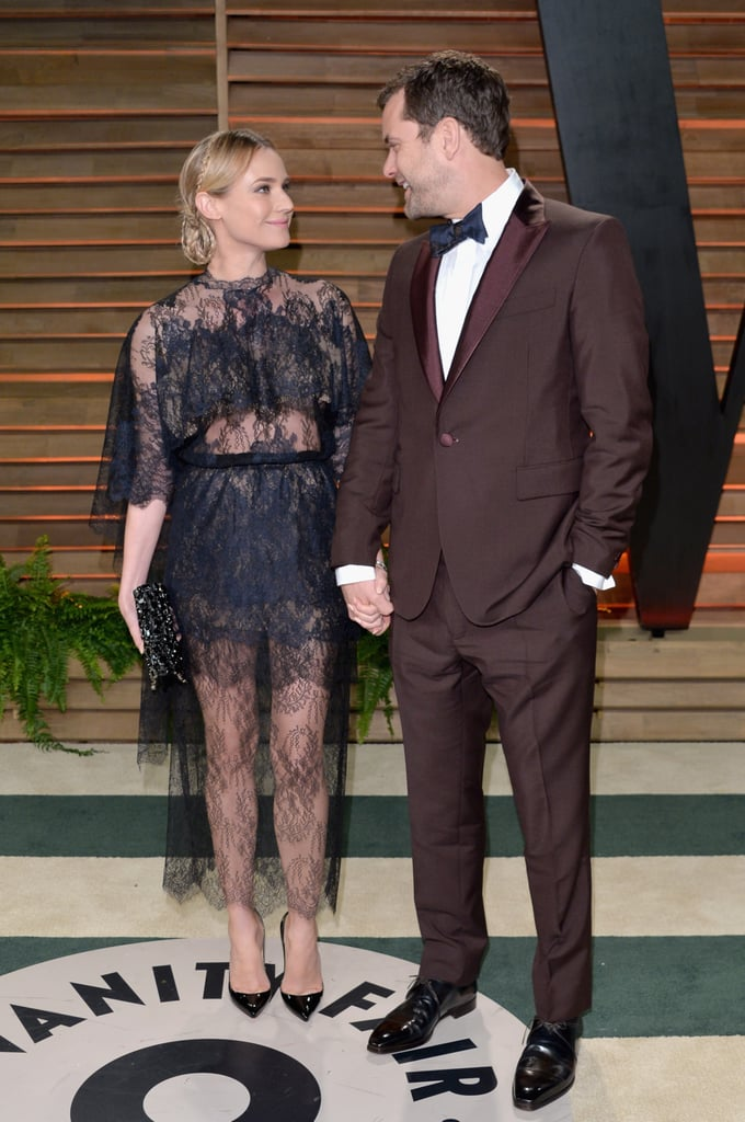 Diane Kruger and Joshua Jackson had the look of love on the red carpet.