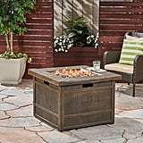 Backyard Propane Cast Iron Fire pit