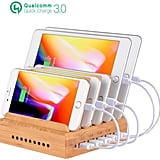 OthoKing Bamboo Charging Station