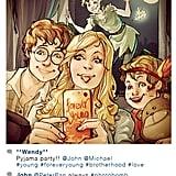 Peter Pan and Crew
