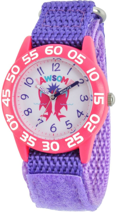 Discovery Kids Pink and Purple Shark Watch