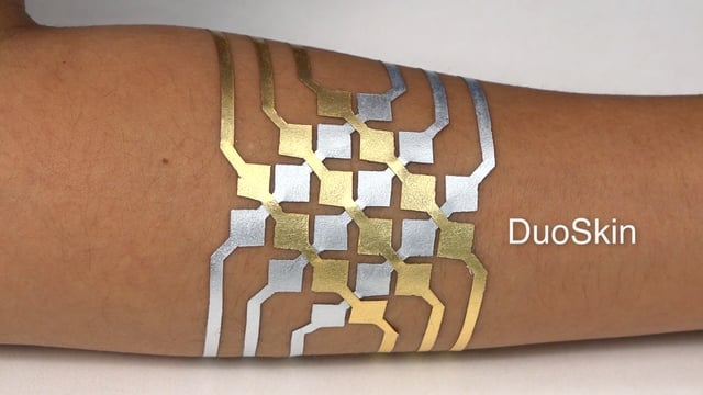 Watch this video to learn how DuoSkin works.