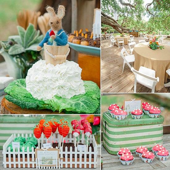 A Peter Rabbit Garden Party