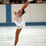 Nancy Kerrigan at the 1992 Olympics