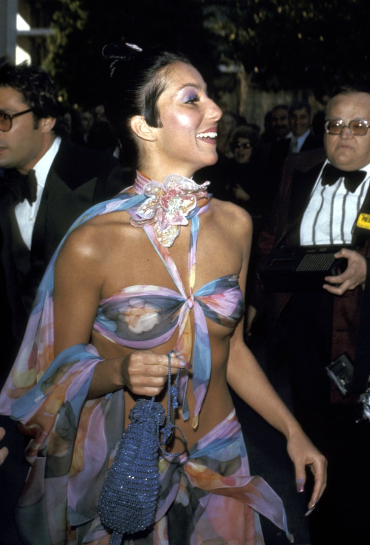 Cher 1974 50 Outrageous Oscar Fashion Moments 2011 02