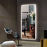 "Hans&Alice Large 65""x22"" LED Full Length Backlit Mirror"