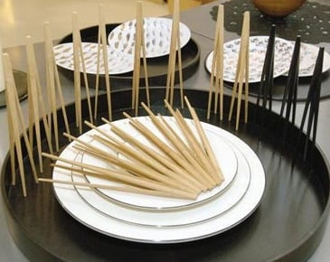 Yummy Link: Three Pronged Chopsticks