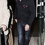 Daniel Craig Flies on to LA While Rachel Weisz Returns to London
