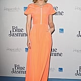 To premiere Blue Jasmine in Australia, Cate Blanchett donned a gorgeous sherbet gown — she did her home country proud!