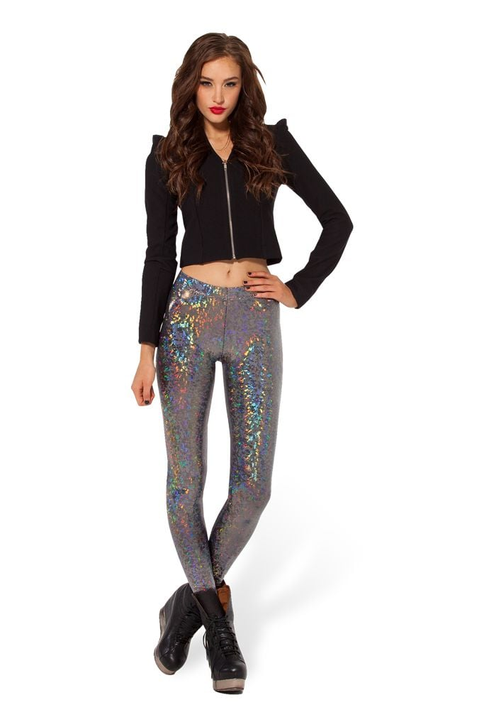 Shattered crystal leggings ($70)