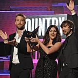 Lady Antebellum took home an American Music Award.