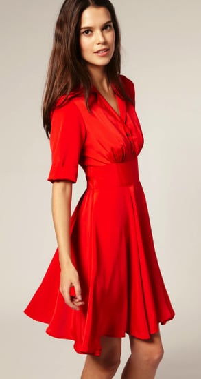 The Prettiest Little Red Dress You'll Find This Spring Is at Asos For $45