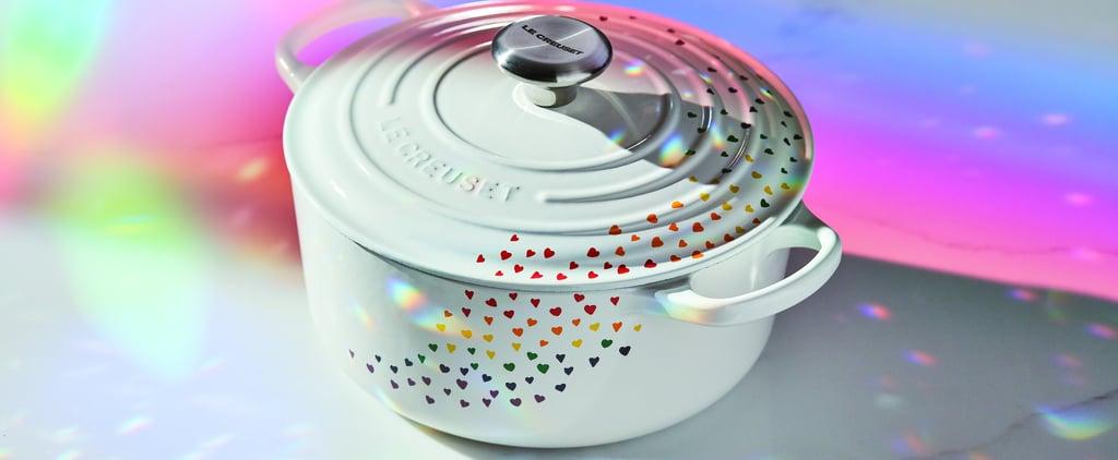 Le Creuset Rainbow Heart Dutch Oven