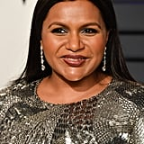 Mindy Kaling at the 2019 Vanity Fair Oscar Party