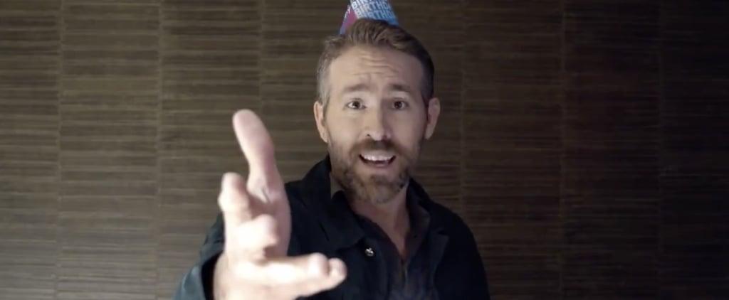 Ryan Reynolds Singing Happy Birthday to Hugh Jackman Video