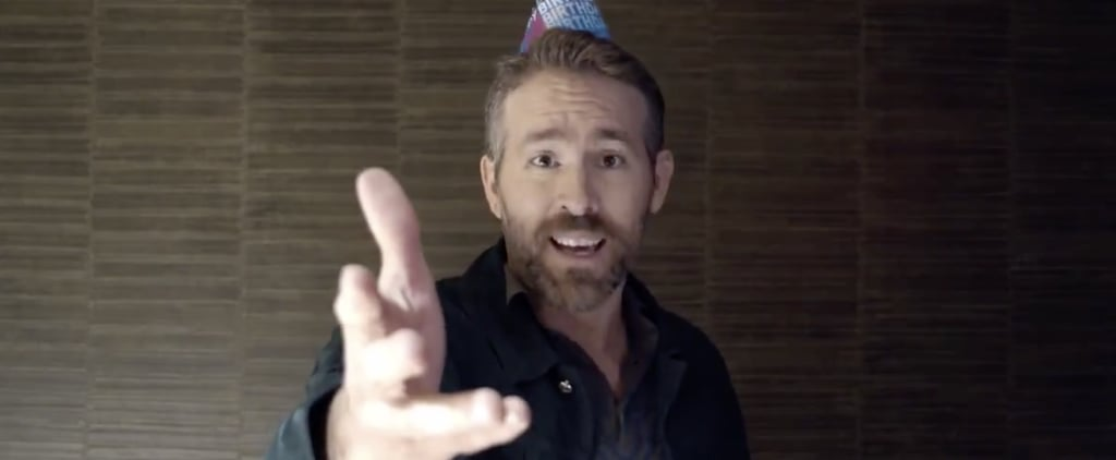 Ryan Reynolds Singing Happy Birthday to Hugh Jackman Video