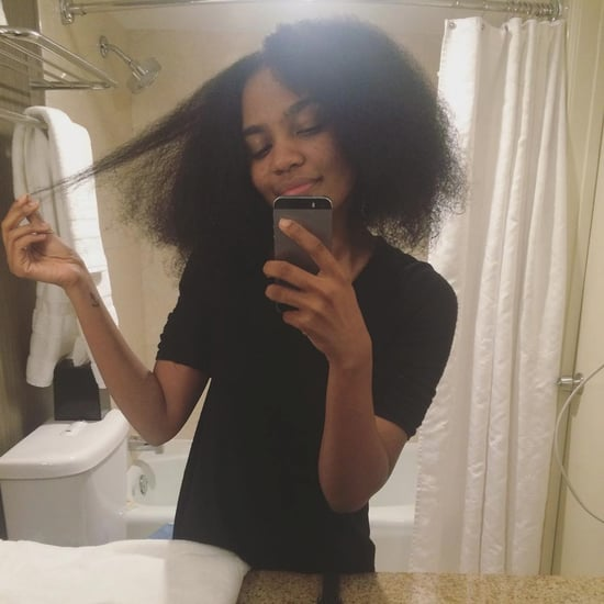 China McClain's Natural Curly Hair