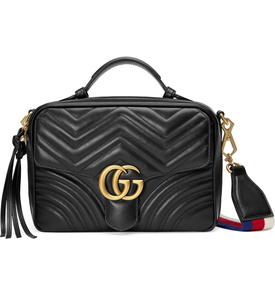 51ba77eaf2a3 Gucci Small GG Marmont 2.0 Matelassé Leather Camera Bag | Best Fall ...