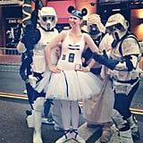 """I've been ready for this day #starwars #disney #R2Tutu #lucasfilm"" — sschroe7 Source: Instagram user sschroe7"