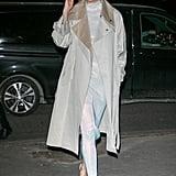 Karlie Kloss's Street Style at Paris Fashion Week