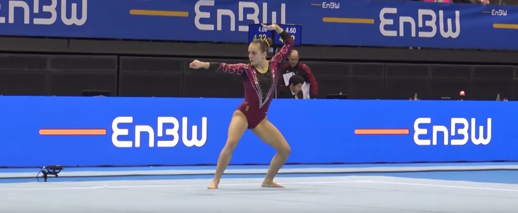 Harry Potter Gymnastics Floor Routine Video